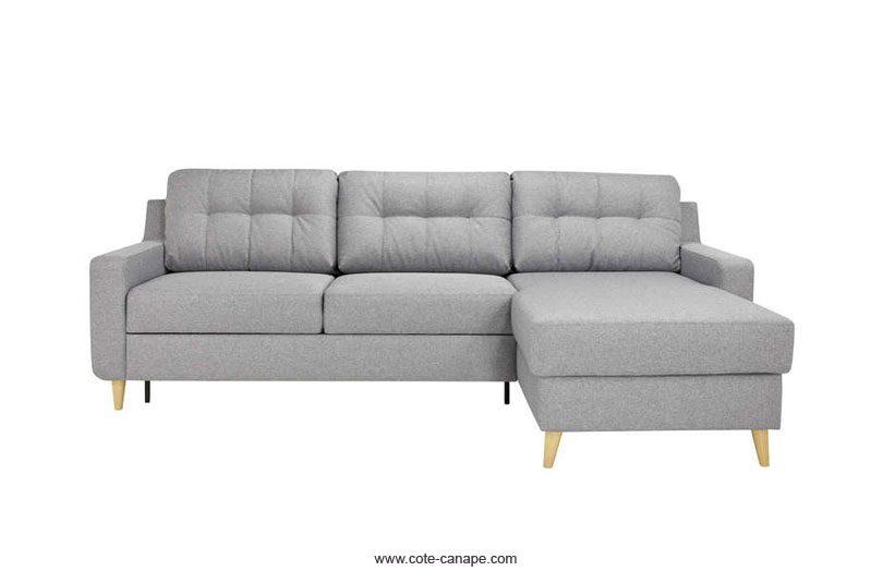 meilleur service 3b6d4 4f9f3 Avis : Canapé d'angle réversible SALVEA de Conforama