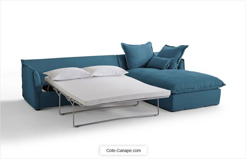 meilleur service 75ebb 6874e Canapé d'angle ODNA : Confort Bultex + Revêtement déhoussable !