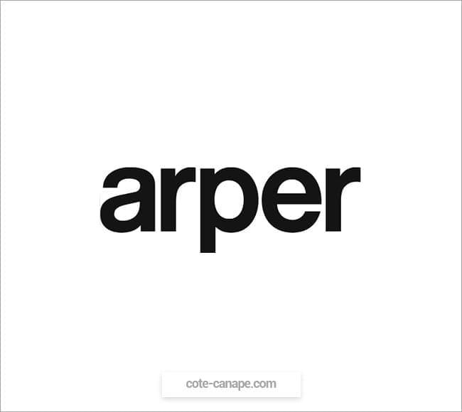 Marque de canapés Arper