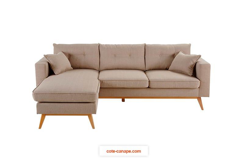 Canapé d'angle réversible BROOKE de Maisons du Monde