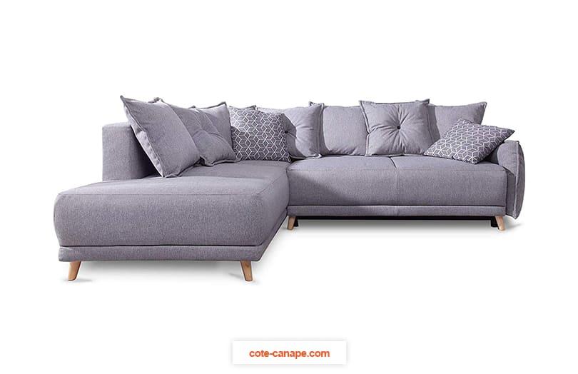 Avis canapé d'angle LENA de Bobochic