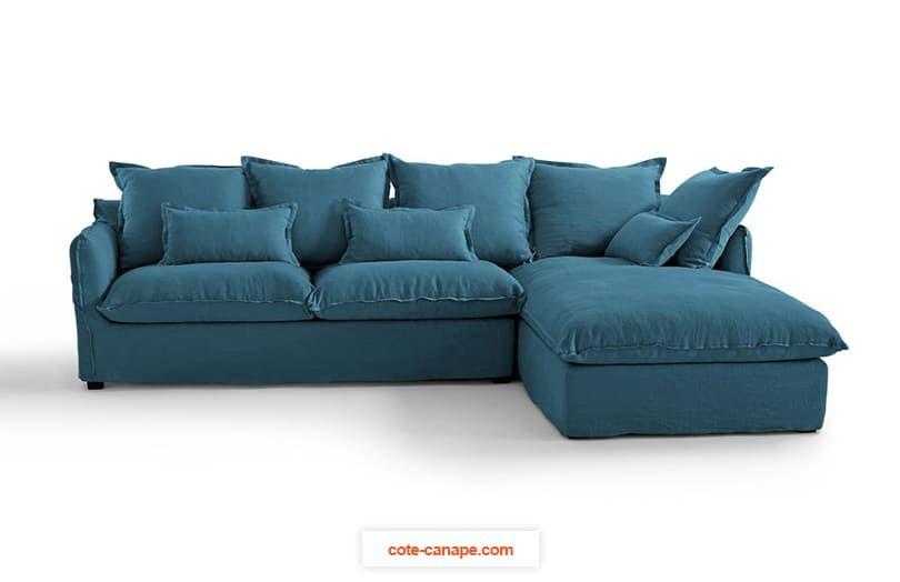 canap d 39 angle odna confort bultex rev tement. Black Bedroom Furniture Sets. Home Design Ideas