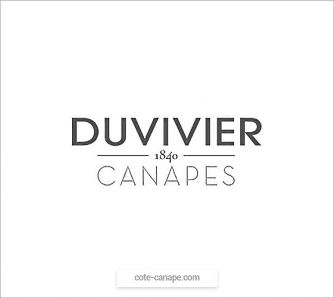 Marque de canapés Duvivier