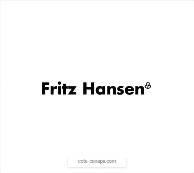 Marque de canapés Fritz Hansen