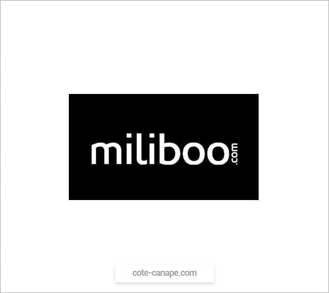 Marque de canapés Miliboo