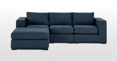 Canapé d'angle modulable MORTIMER Made.com