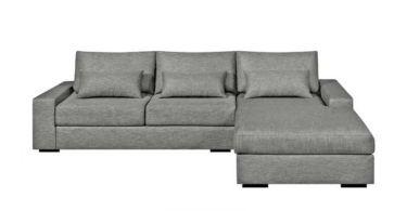 Canapé d'angle convertible Neige par Am.Pm