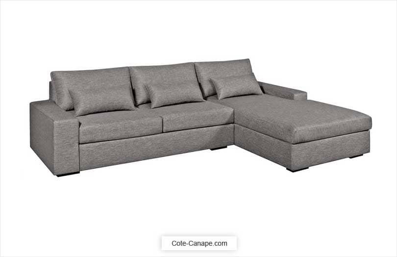Canapé d'angle convertible Neige Am.Pm