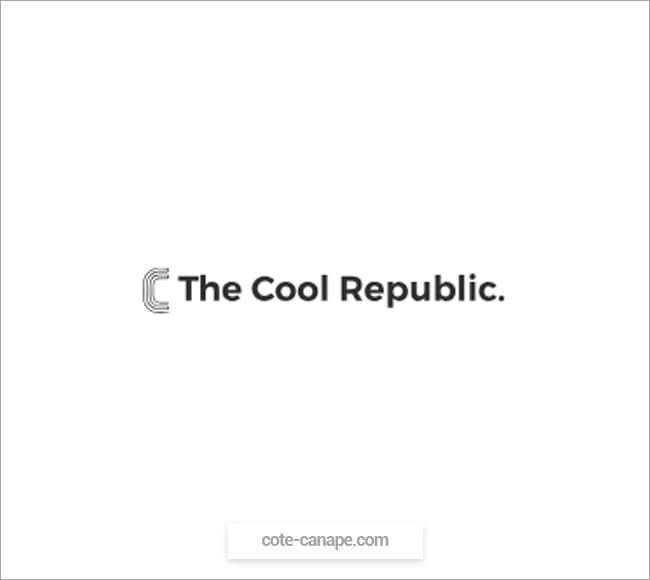Marque de canapés The Cool Republic